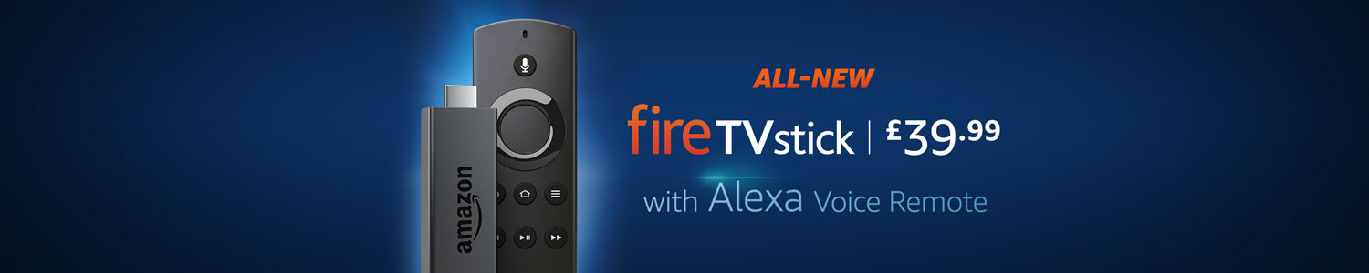 All-New Fire TV Stick with Alexa Voice Remote
