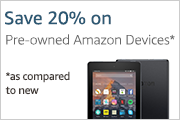 pre-owned Amazon devices