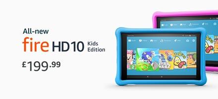 Fire Tablets HD 10 Kids Edition