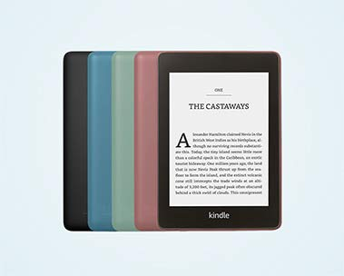 Kindle Paperwhite: now in more colours