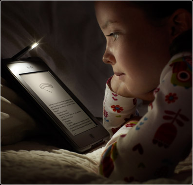 Read easily in the dark