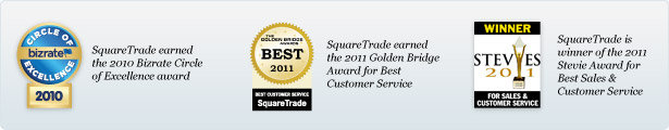 The Most Awarded Warranty for Service, Winner 2011 Stevies Customer Service Award