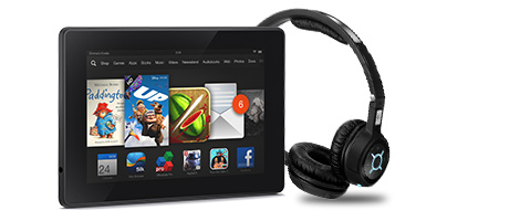 Buy any Kindle Fire Tablet and get 40% off selected Sennheiser headphones