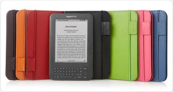 Amazon Kindle Keyboard Leather Case (3rd Generation