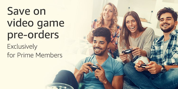 Save on video game pre-orders with Twitch Prime