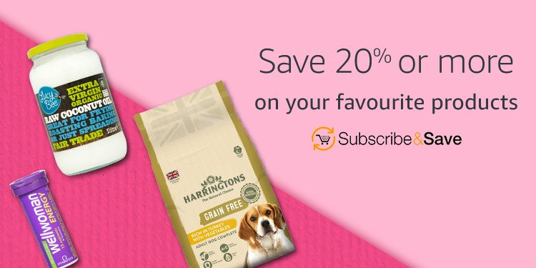 Save 20% or more with Subscribe and Save