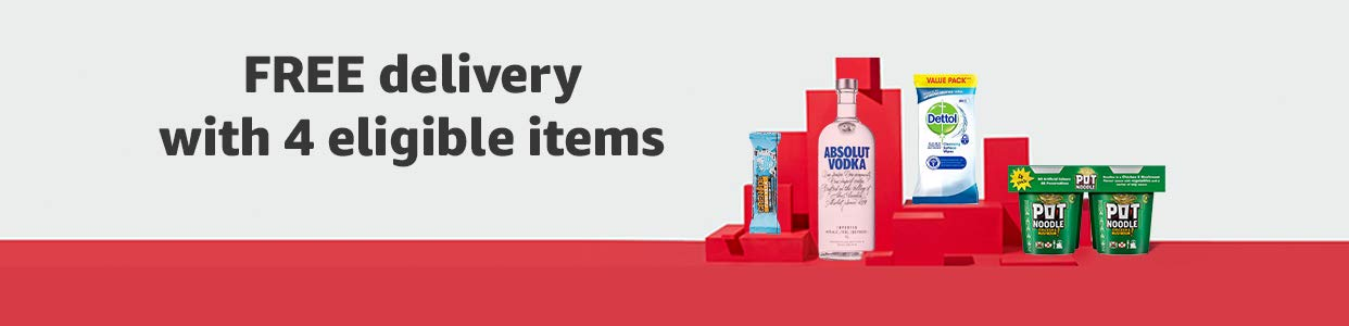 FREE delivery with 4 eligible items