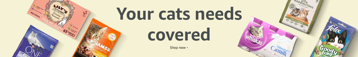 Stock up on your cat's favourites