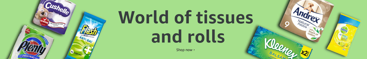 Popular tissues and rolls