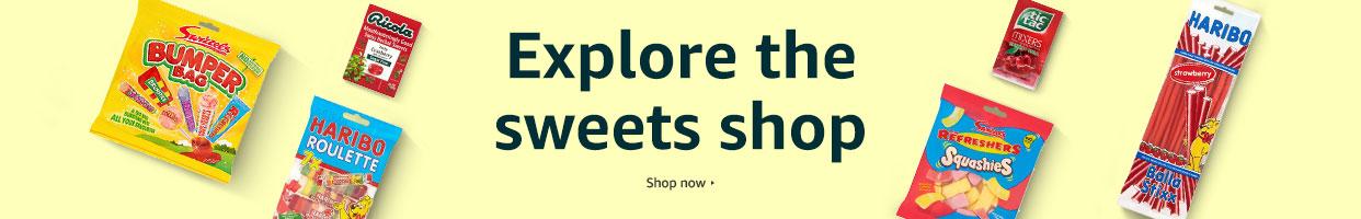 Explore the sweets shop