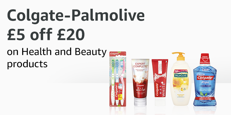 £5 off £20 on selected Health and Beauty products