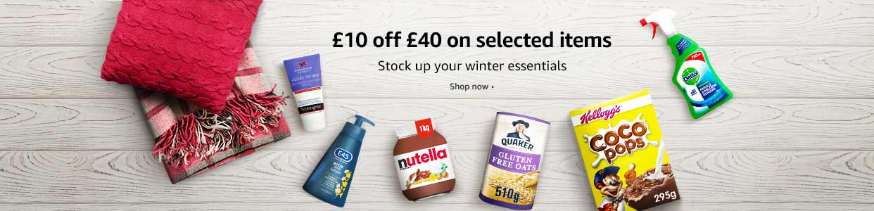 £10 off £40 on selected items