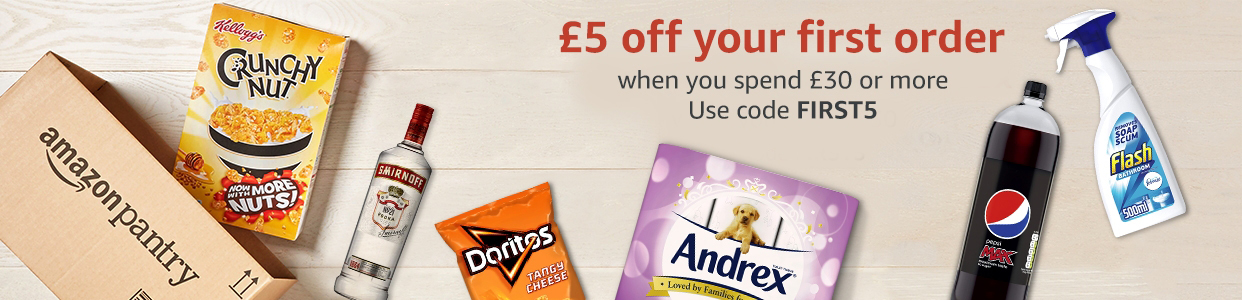 £ off your first order