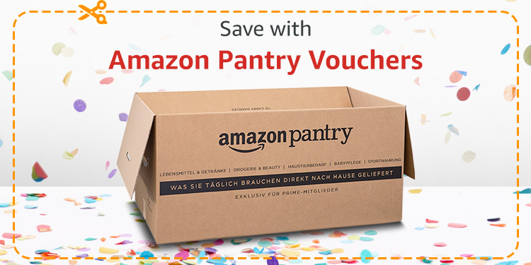 Save with Amazon Pantry Vouchers
