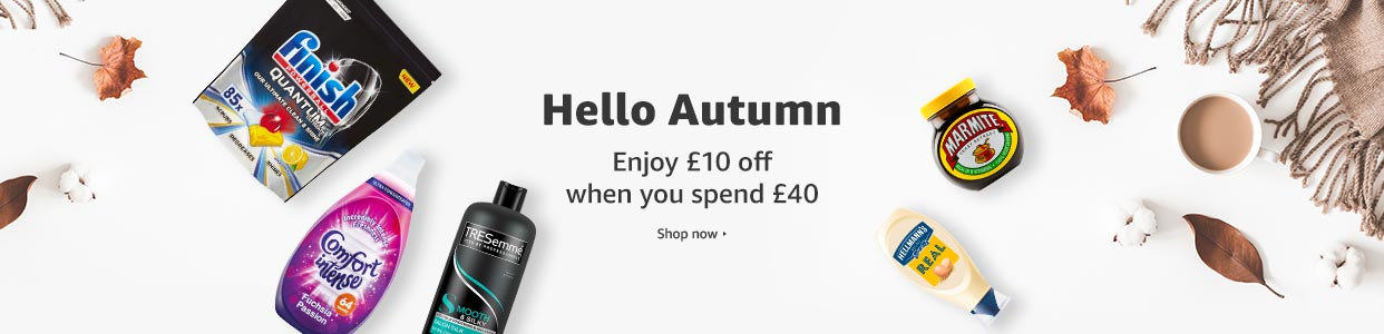 £10 off when you spend £40 or more on selected items