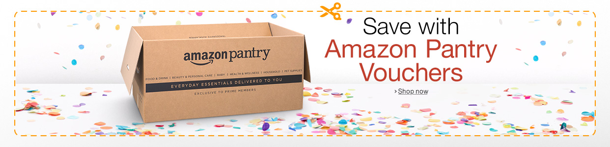 Save with Amazon Panry vouchers