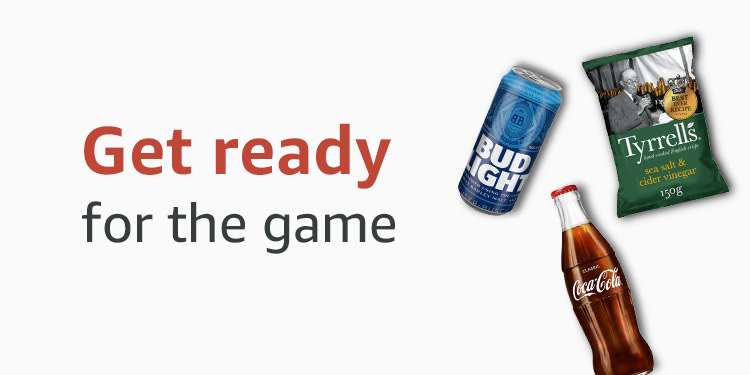 Get ready for the game