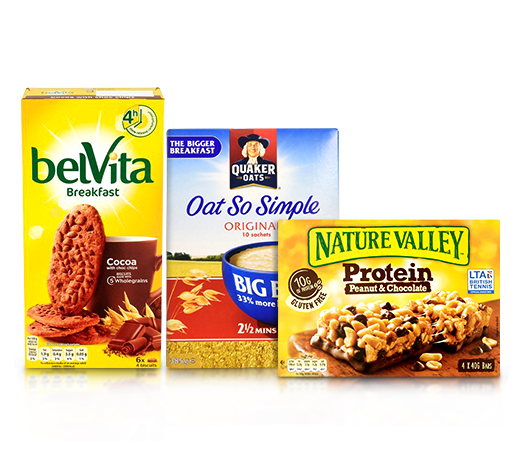 Cereals & Breakfast Bars