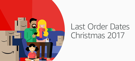 Last Order Delivery Dates 2017