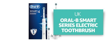UK: Oral-B Smart Series Electric Rechargeable Toothbrush
