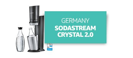 Germany: SodaStream CRYSTAL 2.0