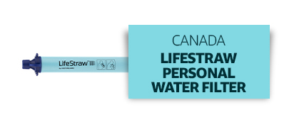 Canada: Lifestraw Personal Water Filter