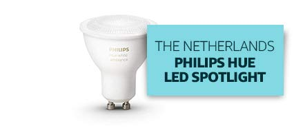 The Netherlands: Philips Hue LED Spotlight