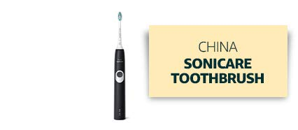 China: Sonicare Toothbrush