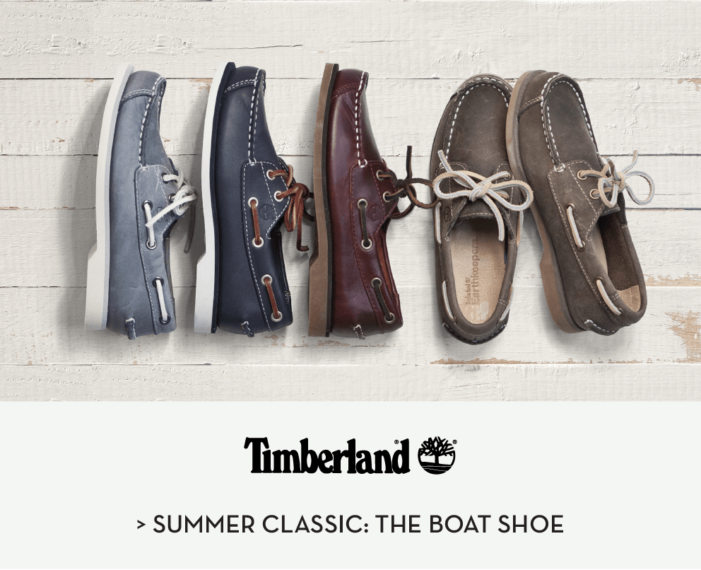 Timberland Summer Classic: The Boat Shoe