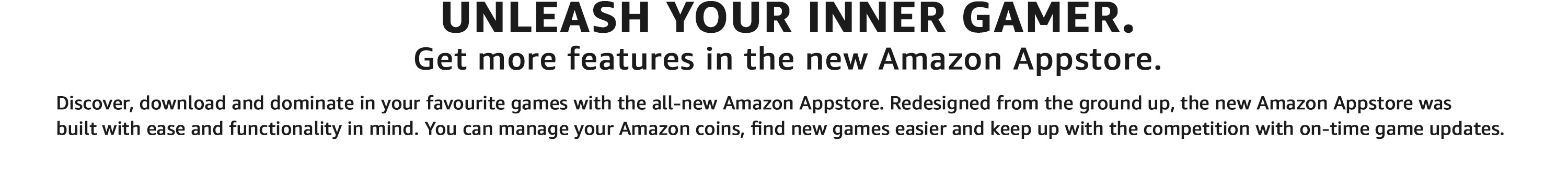 Experience Top Apps & Games with the new Amazon Appstore