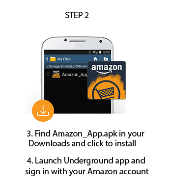 download amazon underground apk file
