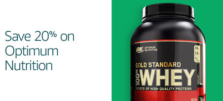 Save 20% on Optimum Nutrition, BSN and more