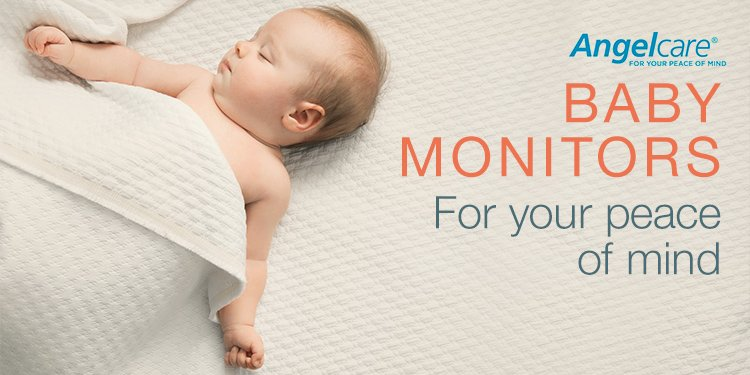 Angelcare Baby Monitors- For your peace of mind