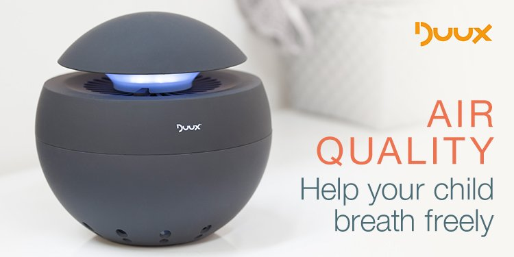 Duux Air Quality- Help your child breath freely