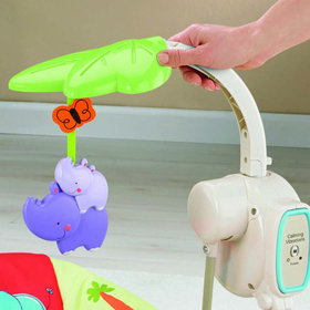 Luv U Zoo Space Saver Swing and Seat Toy Bar