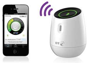 BT Smart Audio baby monitor.