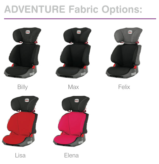 Britax Adventure Group 2-3 Car Seat (Lisa/Red): Amazon.co.uk: Baby