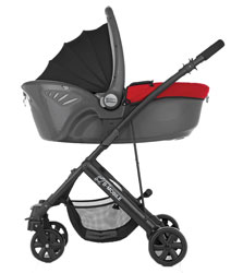 britax b mobile 4 lightweight pushchair chili pepper red baby. Black Bedroom Furniture Sets. Home Design Ideas
