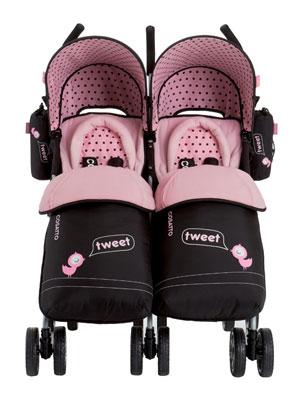 Cosatto You2 Twin Stroller Little Tweeters Amazon Co Uk