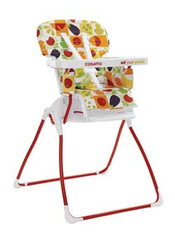 Cosatto On The Move Highchair  sc 1 st  Amazon UK & Cosatto On the Move Eat Your Greens Highchair: Amazon.co.uk: Baby