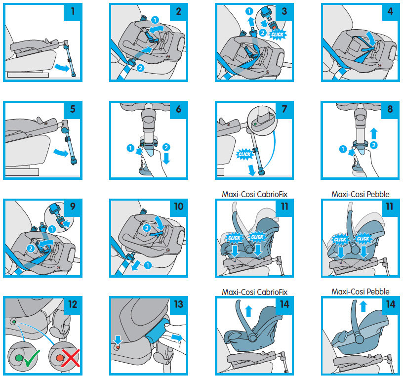 Installation Instructions For The Maxi Cosi EasyBase 2