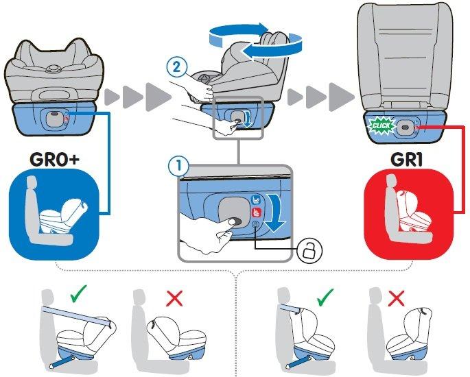 Maxi Cosi Opal Group 0 1 Car Seat Total Black Amazon