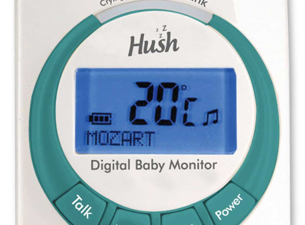 Safety First Monitor Shows Room Temperature