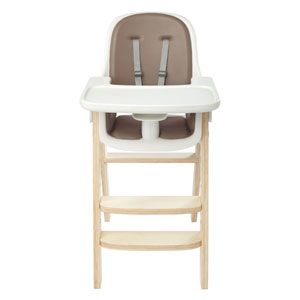 The Sprout Highchair offers an ideal, comfy fit during all stages of your child's development