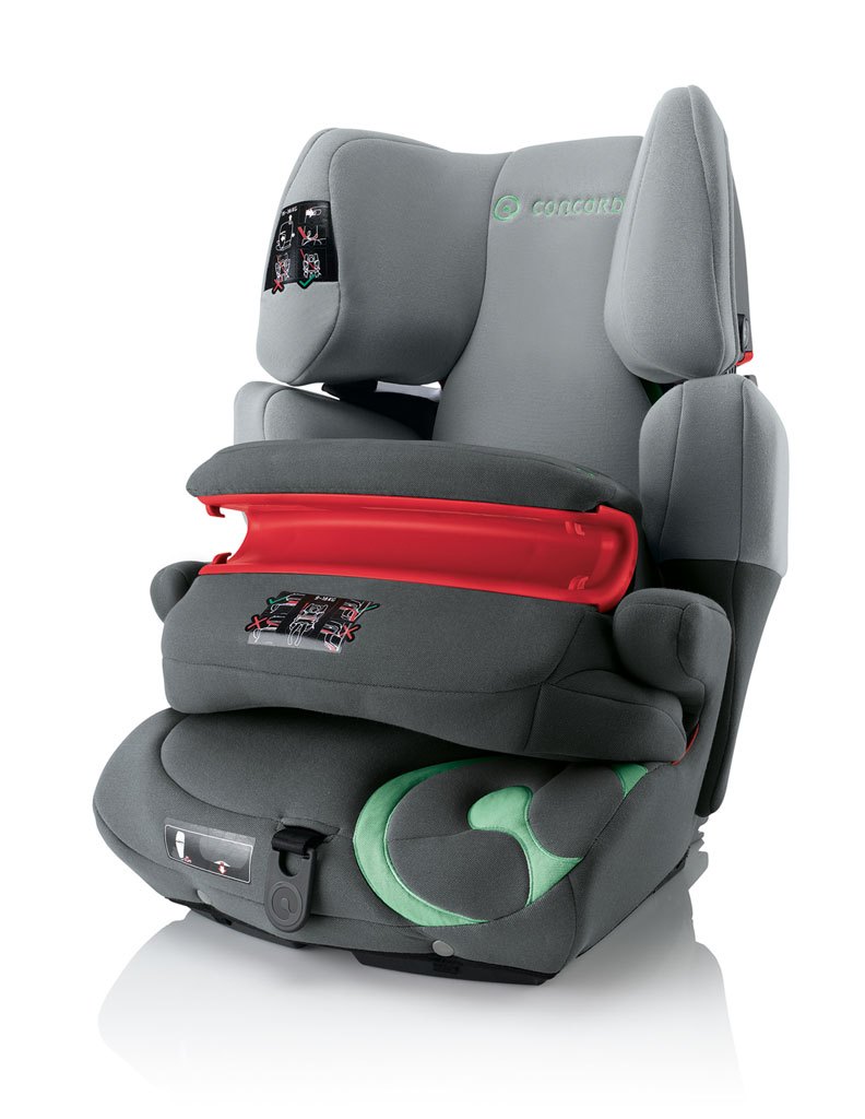 concord transformer pro group 1 2 3 car seat red amazon. Black Bedroom Furniture Sets. Home Design Ideas