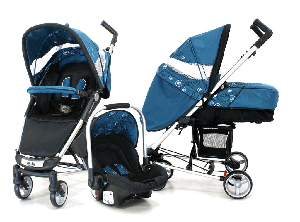 Petite Star Zia Evolve Travel System Stroller Grey