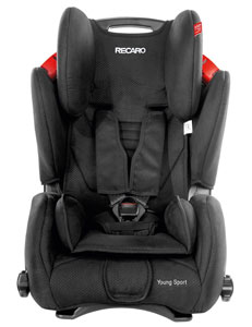 RECARO Young Sport front view