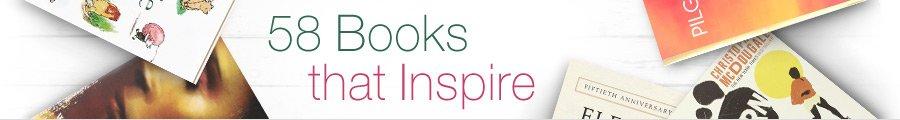 58 Books that Inspire