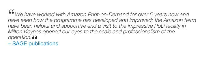 Amazon co uk: Print-on-Demand for Publishers: Books