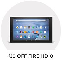 £30 Off Fire HD10
